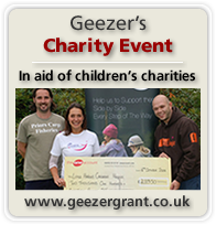 Geezer's Charity Event